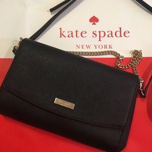 ♠️ NWT KATE SPADE black convertible crossbody bag